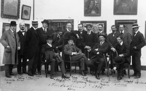 Organisatiecomité van de Sonderbundausstellung in 1912