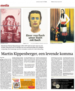Verschenen in Trouw, 13 april 2013
