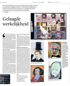 Verschenen in Trouw, 15 november 2014