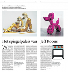 Verschenen in Trouw, 10 december 2014