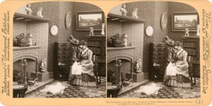 'The stereograph as an educator', Underwood & Underwood, 1901