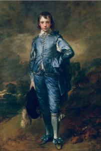 Thomas Gainsborourh, The blue boy, ca. 1770. The Huntington, San Marino, CA.
