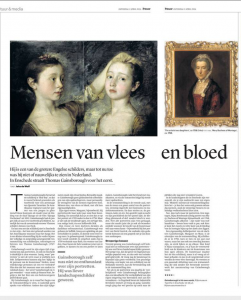 Verschenen in Trouw, 2 april 2016