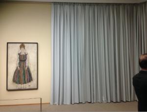 Egon Schiele's 'Edith' in het Gemeentemuseum Den Haag, 2016. Foto: JdW