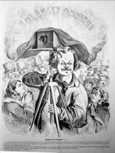 Nadar le Grand. Uit het Journal Amusant van 28 december 1861