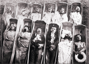 Morts de la Commune, A.A.E. Disdéri, 1871
