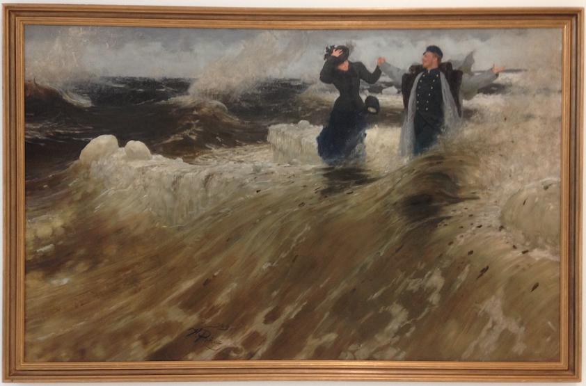 'Wat een vrijheid!', Ilja Repin, Collectie Russisch Staatsmuseum